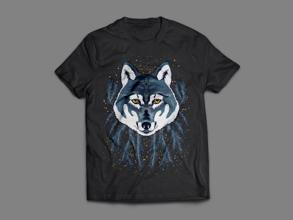 T-Shirt Wolf 3
