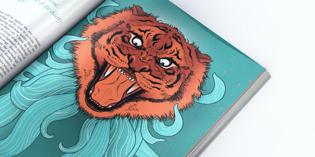 Tiger mock up