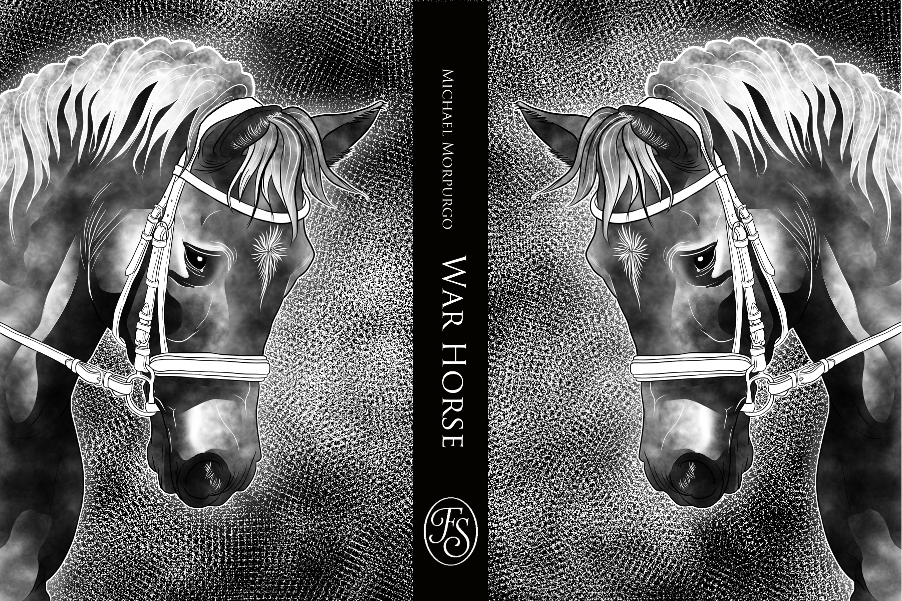 War Horse Book Illustration Rachel Alvarez
